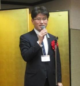 来賓ご挨拶:宮﨑 経産省デバイス産業戦略室長