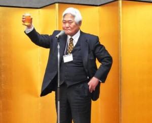 乾杯:大見理事・副会長