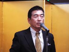 乾杯発声:佐藤 理事・副会長
