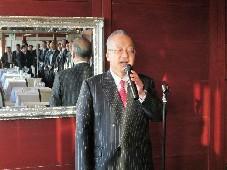 主催者挨拶:齋藤   代表理事・会長
