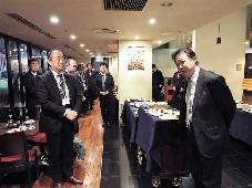 締めの挨拶:中村  理事・関西 NEDIA 代表