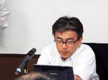 司会進行のリコー電子デバイス:藤川氏