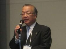 レセプション主催者挨拶:齋藤代表理事・会長