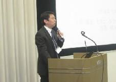 基調講演司会:ローム(株)の中村統括部長