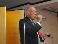 来賓挨拶の SSIS  橋本理事長
