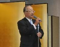 主催者挨拶の齋藤代表理事・会長