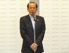 来賓ご挨拶  北九州市  松崎茂  副市長