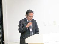 閉会挨拶される千葉  東北NEDIA 副代表