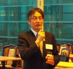 乾杯:生越 九州経済産業局部長