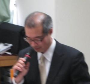 新日本有限監査法人シニアパートナーの山本氏