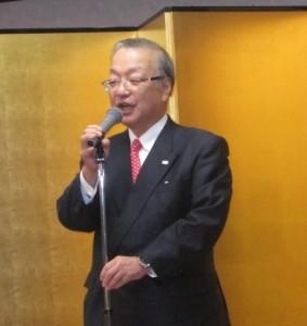 主催者挨拶:齋藤代表理事・会長