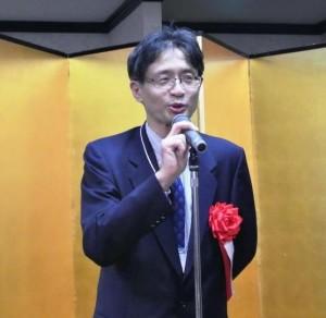 来賓ご挨拶:岡村 SIRIJ  部長