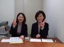 受付:石井さん、高橋さん