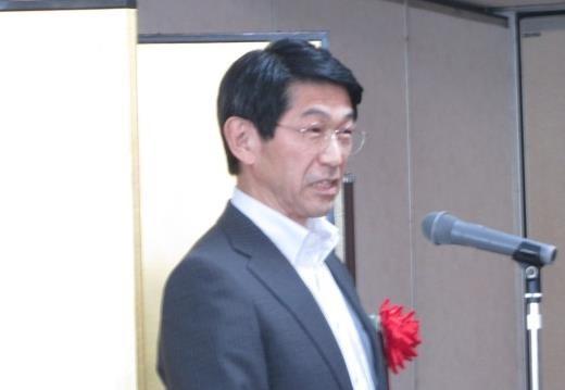 来賓ご挨拶:中村 SEMI ジャパン代表