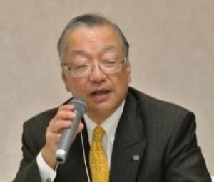 議長の齋藤 代表理事・会長