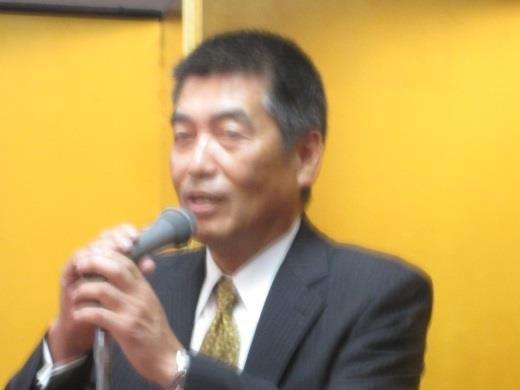 中締め:佐等 理事・副会長