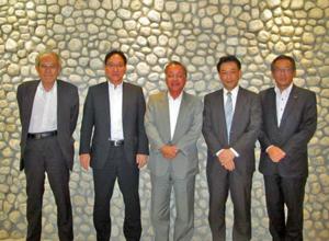 組織委員会出席の齋藤代表理事・会長 を始めとしたメンバー
