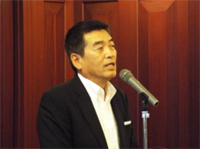 主催者挨拶:NEDIA理事・副会長           佐藤和樹 氏