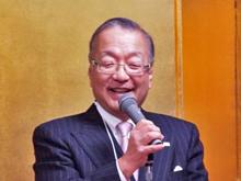 催者挨拶:齋藤  代表理事・会長