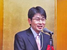 来賓挨拶:田中  経産省デバイス産業戦略室長