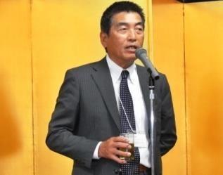 乾杯の発声:佐藤 理事・副会長
