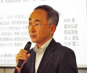 来賓挨拶 近畿経済産業局次長 志賀英晃  氏