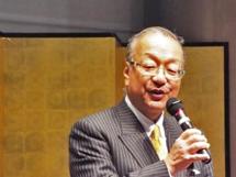 レセプション主催者挨拶: 齋藤 代表理事・会長