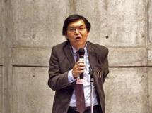 レセプション司会:泉谷 理事・副会長
