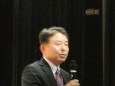閉会挨拶:白瀬   ㈱くまさんメディクス  代表取締役社長